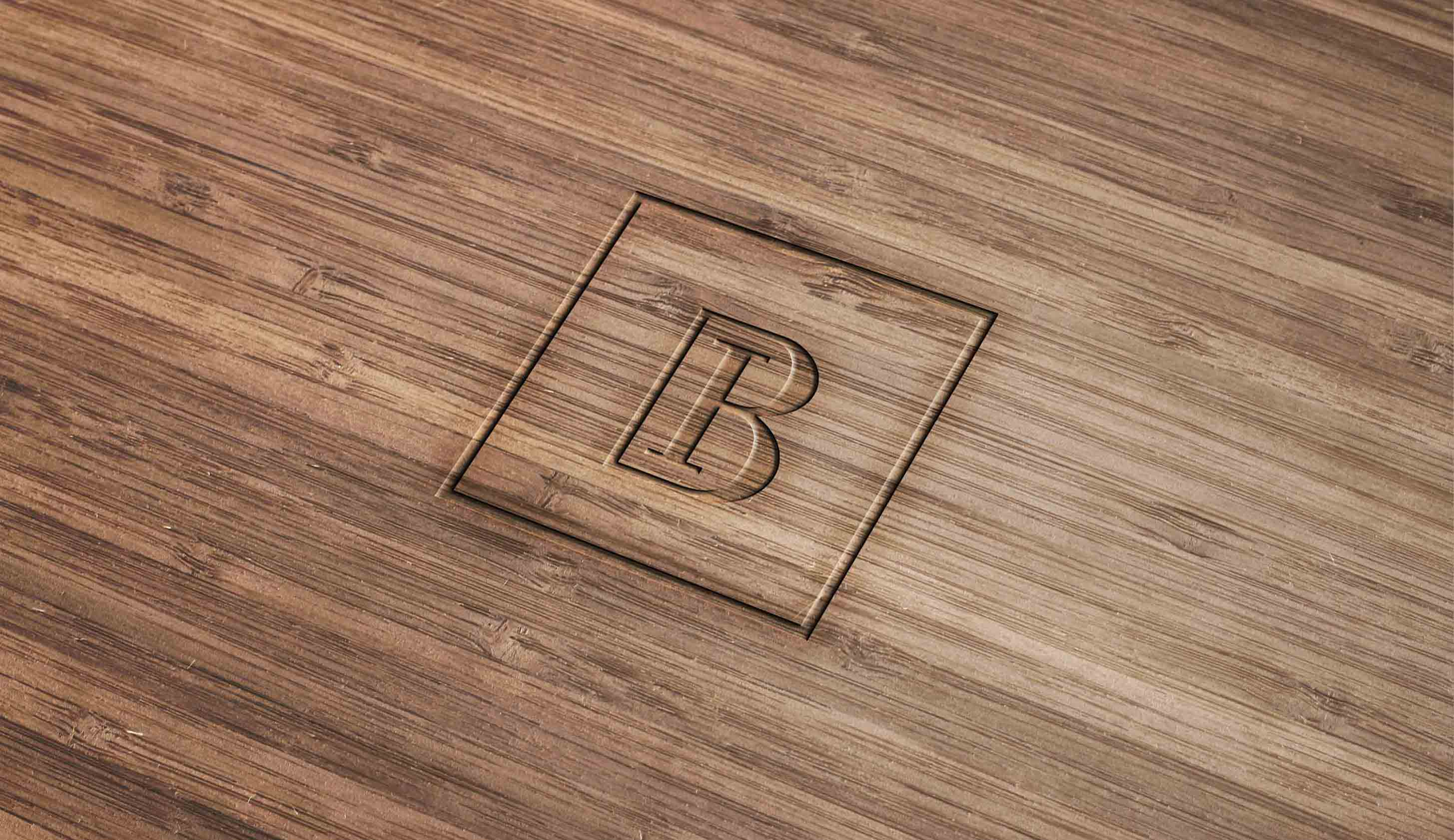 Wood-Engraved-Logo-Mockup¨