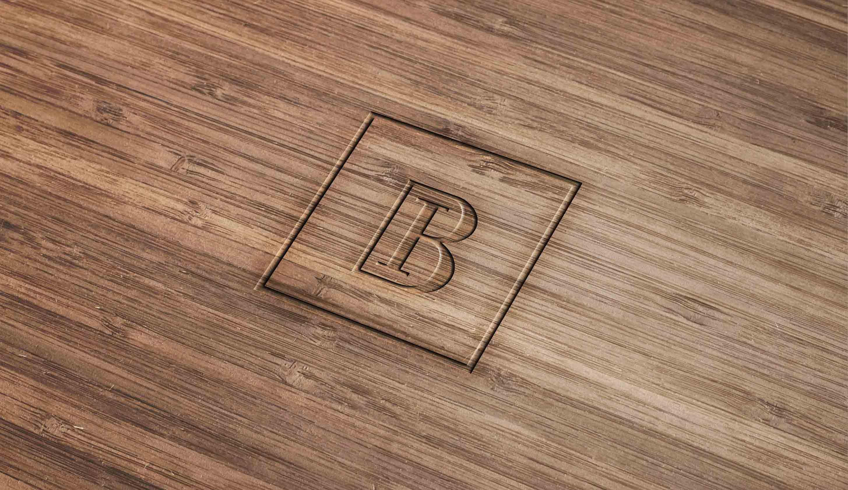 Wood-Engraved-Logo-Mockup¨